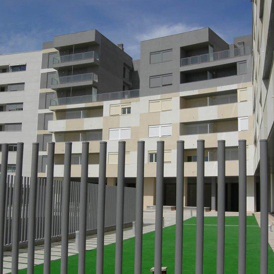 96 Viviendas en Rosales del Canal Zaragoza